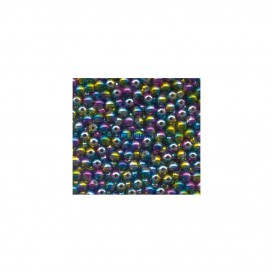 PERLES FLASHMER ARC EN CIEL 5MM