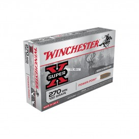 MUNITIONS BALLES WINCHESTER 270W POWER POINT