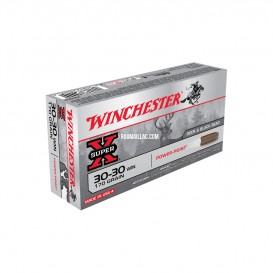 MUNITIONS BALLES WINCHESTER 30-30 WINCHESTER POWER POINT