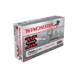 MUNITIONS BALLES WINCHESTER 7RM POWER POINT