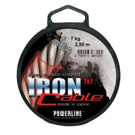 ACIER 49 BRINS GAINE THERMO SOUDABLE IRON CABLE