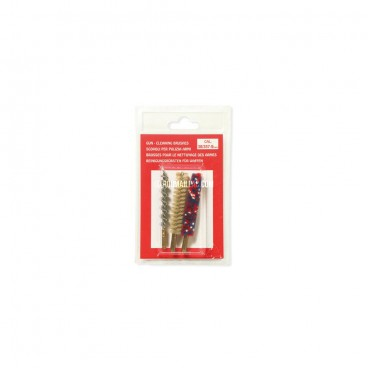 BLISTER DE 3 BROSSES CALIBRE 14MM