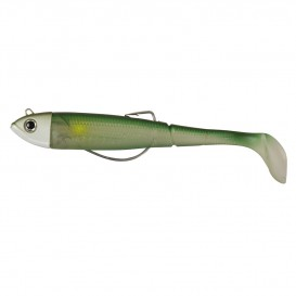 LEURRE DAM EFFZETT KICK-S MINNOW WEEDLESS PADDLE TAIL 12 G