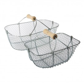PANIER A COQUILLAGES TORTUE