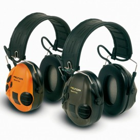 CASQUE PELTOR SPORTTAC  VERT/ORANGE