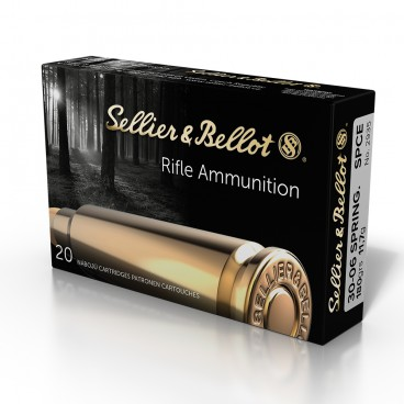 MUNITIONS BALLES SELLIER & BELLOT 30-06 SPCE