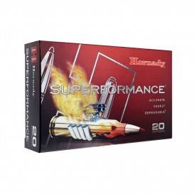 MUNITIONS BALLES HORNADY 270W SUPERFORMANCE SST 80563
