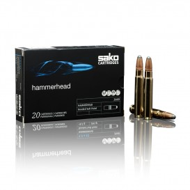 MUNITIONS BALLES SAKO 300WM SUPER HAMMERHEAD 236A