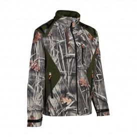 BLOUSON PERCUSSION SOFTSHELL CAMO WET