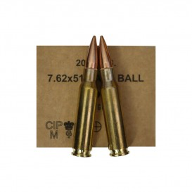LOT DE 80 MUNITIONS GGG 308W FMJ