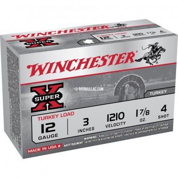 CARTOUCHES WINCHESTER DOUBLE X 12 MAGNUM